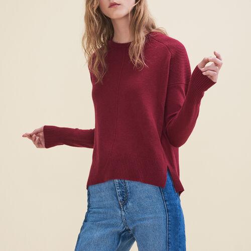 Basic cashmere sweater - Sweaters - MAJE