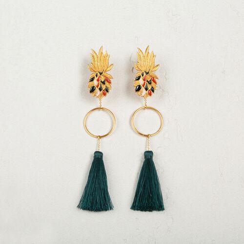 Tassel earrings - Voir Tout - MAJE