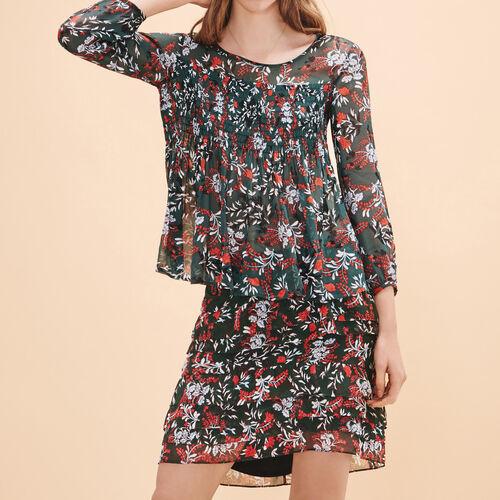 Floral-print top - Tops & T-Shirts - MAJE