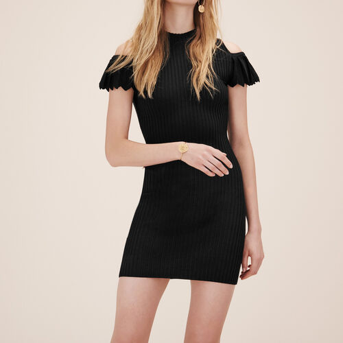 Kleid aus Stretch-Strick - Kleider - MAJE