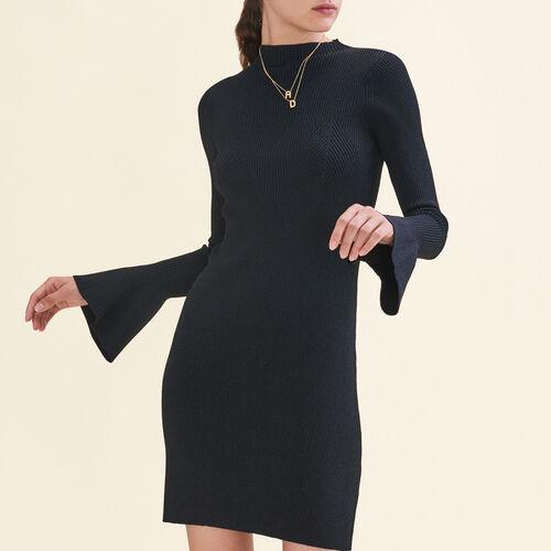 Lurex knit dress - Dresses - MAJE