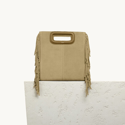Suede M bag - All bags - MAJE