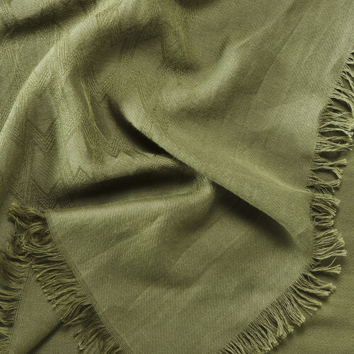Cotton blend XXL shawl - Scarves - MAJE