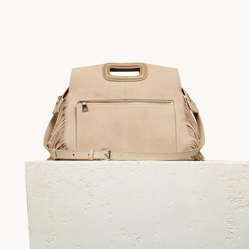 Suede M Walk bag - All bags - MAJE