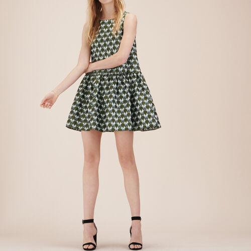 Jacquard sleeveless dress - Dresses - MAJE