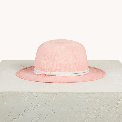 Straw Borsalino hat - All accessories - MAJE