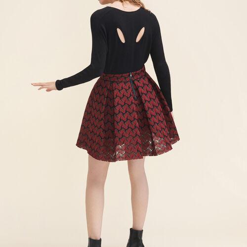 Fine wool blend jumper - Sweaters - MAJE