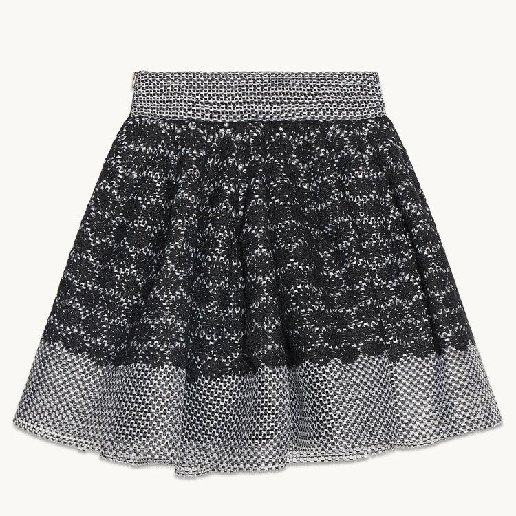 JANIA Basket lace skater skirt - Skirts & Shorts - Maje.com
