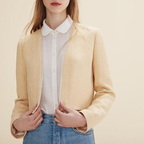 Short jacket - Coats & Jackets - MAJE